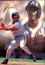 1993 Flair #3 Ron Gant NM-MT Atlanta Braves