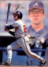 1993 Flair #6 Mark Lemke NM-MT Atlanta Braves