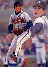 1993 Flair #7 Greg Maddux NM-MT Atlanta Braves