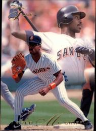 1993 Flair #8 Fred McGriff NM-MT Atlanta Braves/San Diego Padres
