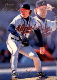 1993 Flair #12 Mike Stanton NM-MT Atlanta Braves