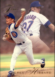 1993 Flair #15 Greg Hibbard NM-MT Chicago Cubs