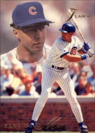 1993 Flair #16 Derrick May NM-MT Chicago Cubs