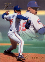 1993 Flair #17 Chuck McElroy NM-MT Chicago Cubs