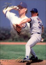 1993 Flair #18 Mike Morgan NM-MT Chicago Cubs