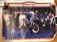 Phillies Matinee Idols 1980's SGA Poster Autographed by All Daulton, Hayes, Stone, Rawley Jeltz, Samuel