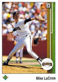 1989 Upper Deck #48 Mike LaCoss VG San Francisco Giants