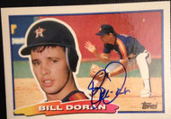 Bill Doran Autographed 1988 Topps Big #51
