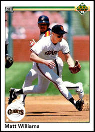 1990 Upper Deck #577 Matt Williams VG San Francisco Giants