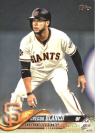2018 Topps #664 Gregor Blanco NM-MT San Francisco Giants