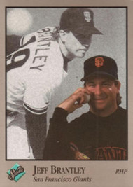 1992 Studio #112 Jeff Brantley VG San Francisco Giants