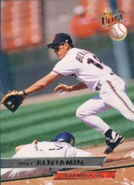 1993 Ultra #127 Mike Benjamin VG San Francisco Giants