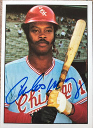 Carlos May Autographed 1975 SSPC #148