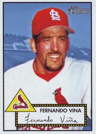 2001 Topps Heritage #3 Fernando Vina NM-MT St. Louis Cardinals