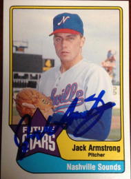 Jack Armstrong Autographed 1989 CMC AAA All-Stars #12