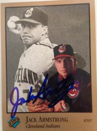 SOLD 3068 Jack Armstrong Autographed 1992 Studio #162