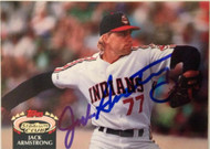Jack Armstrong Autographed 1992 Stadium Club #791
