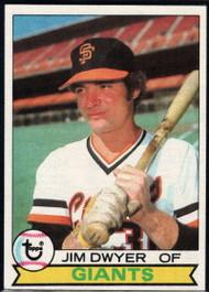 1979 Topps #236 Jim Dwyer VG San Francisco Giants
