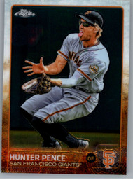 2015 Topps Chrome #83 Hunter Pence VG San Francisco Giants