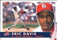 2001 Fleer Tradition #234 Eric Davis NM-MT St. Louis Cardinals