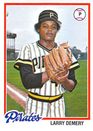 1978 Topps #138 Larry Demery COND Pittsburgh Pirates