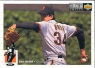 1994 Collector's Choice #67 Dave Burba VG San Francisco Giants