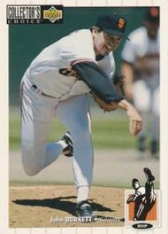 1994 Collector's Choice #68 John Burkett VG San Francisco Giants