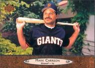 1996 Upper Deck #197 Mark Carreon VG San Francisco Giants