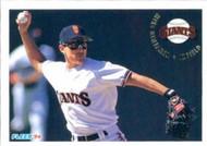 1994 Fleer #681 Mike Benjamin VG San Francisco Giants