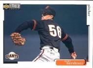 1998 Collector's Choice #486 Orel Hershiser VG  San Francisco Giants