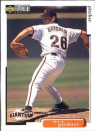 1998 Collector's Choice #489 Mark Gardner VG  San Francisco Giants