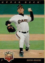 1993 Upper Deck #8 Kevin Rogers VG San Francisco Giants