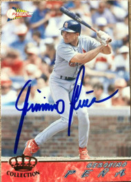 Geronimo Pena Autographed 1994 Pacific Crown Collection #600