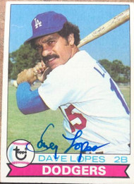 Davey Lopes Autographed 1979 Topps #290 ID: 103207