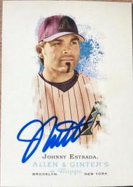 Johnny Estrada Autographed 2006 Topps Allen & Ginter #26