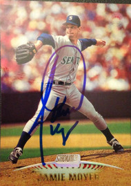 Jamie Moyer Autographed 1999 Stadium Club  #197
