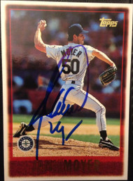 Jamie Moyer Autographed 1997 Topps #283
