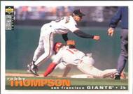 1995 Collector's Choice #253 Robby Thompson VG San Francisco Giants
