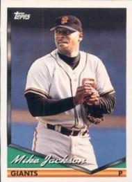 1994 Topps #58 Mike Jackson VG San Francisco Giants