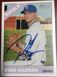 SOLD 3160 Ryan Madson Autographed 2015 Topps Heritage #573