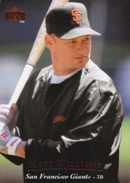 1995 Upper Deck #85 Matt Williams VG San Francisco Giants