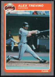 1985 Fleer Update #122 Alex Trevino VG San Francisco Giants