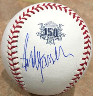 Paul Householder Autographed Cincinnati Reds 150th Anniversary Baseball