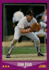 1988 Score #36 John Kruk VG San Diego Padres