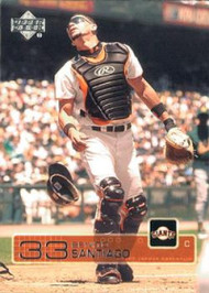 2003 Upper Deck #203 Benito Santiago NM-MT  San Francisco Giants