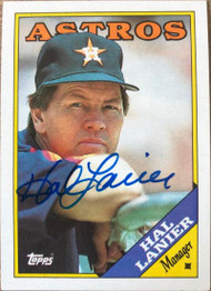 Hal Lanier Autographed 1988 Topps #684