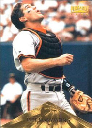 1996 Pinnacle #69 Kirt Manwaring VG San Francisco Giants