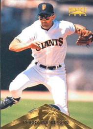 1996 Pinnacle #53 Robby Thompson VG San Francisco Giants