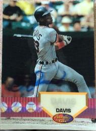 Eric Davis Autographed 1994 Sportflics 2000 #124