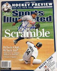 Ronnie Belliard Autographed 10/3/2005 Sports Illustrated No Label